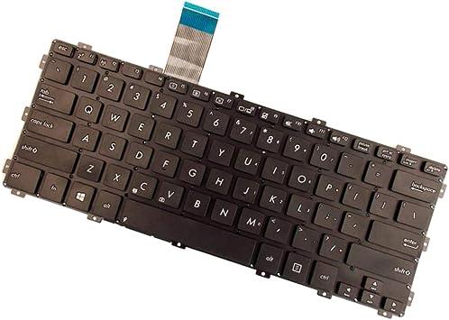 N/A Teclado De Diseño De EE. UU. para ASUS X301K X301S X301EI ...