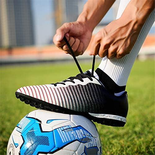 メンズボーイズフットボールシューズ屋内トレーニングフットボールブーツハードウェアのサッカーシューズクリート