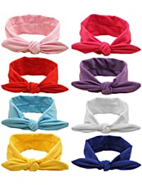 Baby Hairband Girl Elastic Hair accessories Headbands (8...