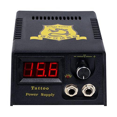 Solong Tattoo® Complete Starter Tattoo Kit 1 Pro Machine Guns 14 Inks...