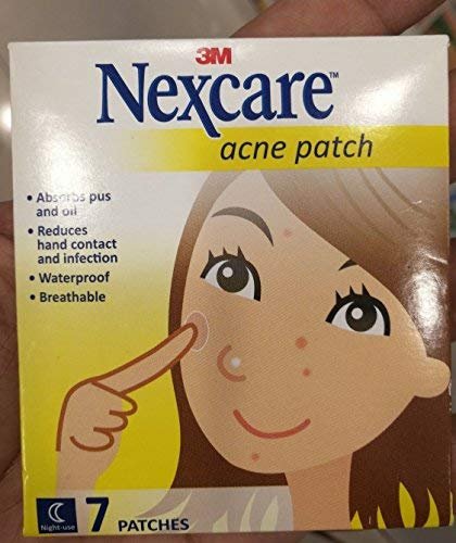 3M Nexcare Acne Patch Ap Ladies Thinner 7S patches, water proof