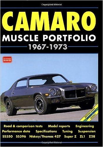 Camaro Muscle Portfolio, 1967-73 Brooklands Muscle Portfolio S.: Amazon.es: R. M. Clarke: Libros en idiomas extranjeros