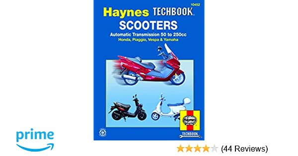 Scooters automatic transmission 50 to 250cc haynes techbook john scooters automatic transmission 50 to 250cc haynes techbook john haynes 9781563926020 amazon books fandeluxe Choice Image