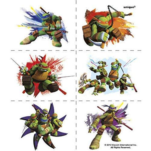 Teenage Mutant Ninja Turtles Tattoos 24 pack Favors Party Supplies TMNT]()