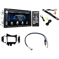 Honda Accord 2003-2007 Double Din Soundstream Radio Kit With Free Backup Camera