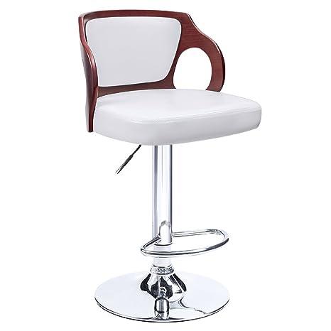 Cool Home Bar Furniture Walnut Set Of 1 Homall Bar Stool Walnut Machost Co Dining Chair Design Ideas Machostcouk