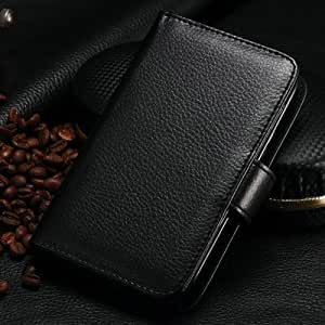 Business Man Leather Case For Samsung Galaxy S3 I9300 With 7 Card Holders Wallet Style Ultifunction Durable Black Black-black