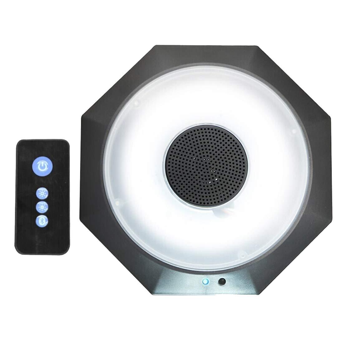 USB Charging LED Umbrella Light Roman Umbrella Hanging Lighting Bluetooth Speaker with Remote Control