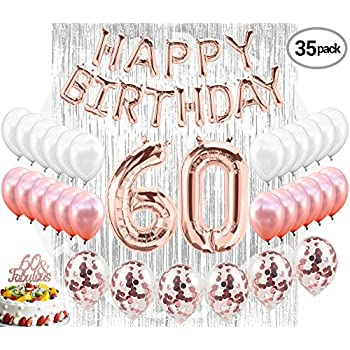 60th Birthday Decorations 60 Party Supplies