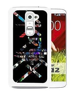 Skrillex Live White High Quality Custom LG G2 Protective Phone Case