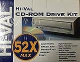 "Hi-Val Multimedia Kit - Disk drive - CD-ROM - 52x - IDE - internal - 5.25"" - white"