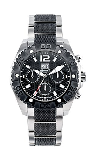 Ingersoll Men's IN1210BKMB Yuca Watch