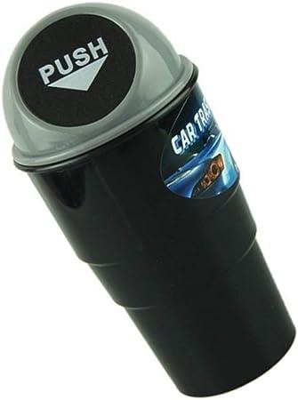 censhaorme Basura Coche Puede Cenicero Mini basurero contenedor de residuos del sostenedor del Organizador de Auto Accesorios Interior