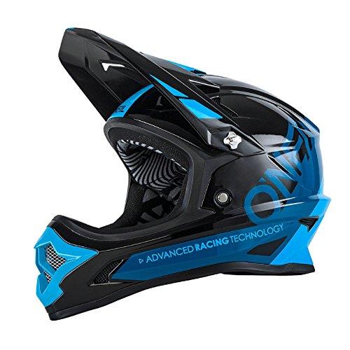 O'neal Backflip RL2 DH Fahrrad Helm Bungarra schwarz/blau 2017 Oneal: Größe: M (57-58cm)