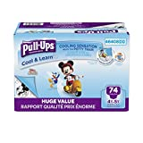 : Pull-Ups Cool & Learn Training Pants for Boys, 4T-5T, 74 Count (Packaging May Vary)