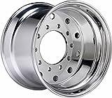 Accuride 29374 - 12.25 x 22.5 Aluminum 10-Lug Semi-Polished Steer Tire Wheel