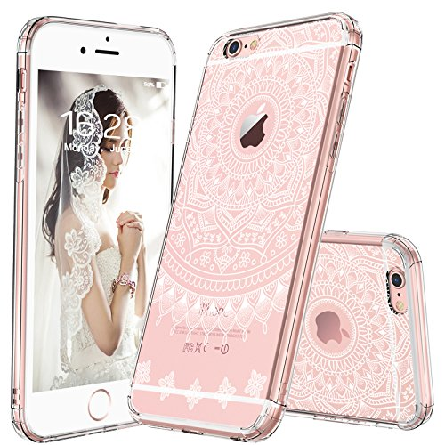 Amazoncom Mosnovo Iphone 6s Caseiphone 6 Cover Girly White Henna