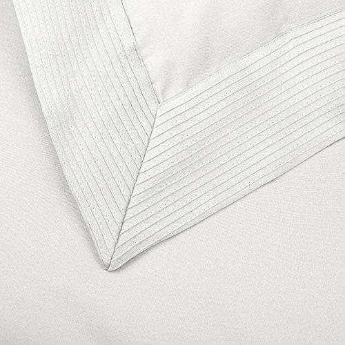 Pinzon 400-Thread-Count Pleated Hem Egyptian Cotton Duvet Set - King, Cloud