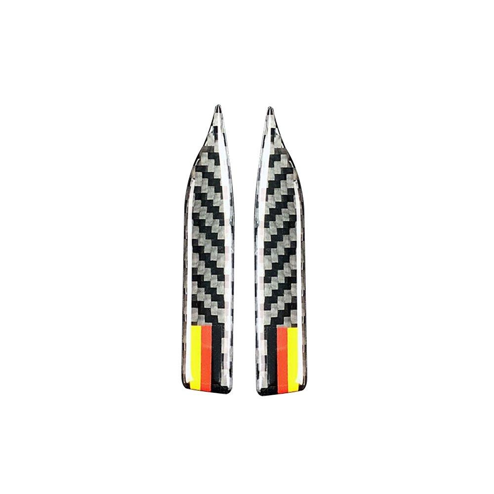 KKmoon Specchietto retrovisore in fibra di carbonio Protezione anti-sfregamento per E90 E60 F30 F34 F10 F20 x1 x3 x4 x5 x6 Striscia anticollisione per auto 010-B