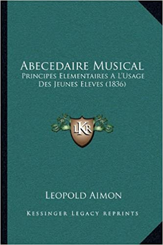 Gratis elektroniske nedlastingsbøkerAbecedaire Musical: Principes Elementaires A L'Usage Des Jeunes Eleves (1836) (French Edition) by Leopold Aimon 1167422791 (Norsk litteratur) ePub