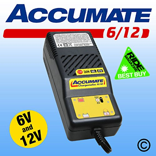 Accumate 6v/12v Battery Charger Tecmate