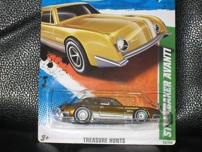 Hot Wheels 2011 Studebaker Avanti Super Treasure Hunt #55