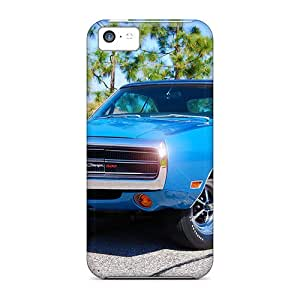 Top Quality Protection Blue Muscle Case Cover For Iphone 5c