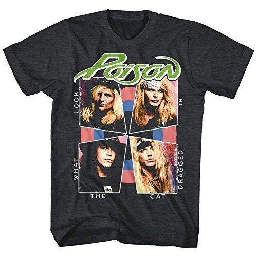A&E Designs Poison Shirt Look What The Cat Dragged in T-Shirt (3XL, Khaki (Design Khaki T-shirt Tee)