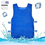 Summer Icy Cooling Vest Heat Resistant Apron for Men and Women for Fishing,Cycling,Running,Cooking - Summer Outdoor Sports Vest