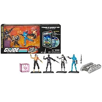 Amazon.com: G.I. JOE Hasbro 25th Anniversary DVD Battle Pack ...