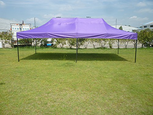 American Phoenix Canopy Tent 10×20 foot Purple Party Tent Gazebo Canopy Commercial Fair Shelter Car Shelter Wedding Party Easy Pop Up – Purple For Sale