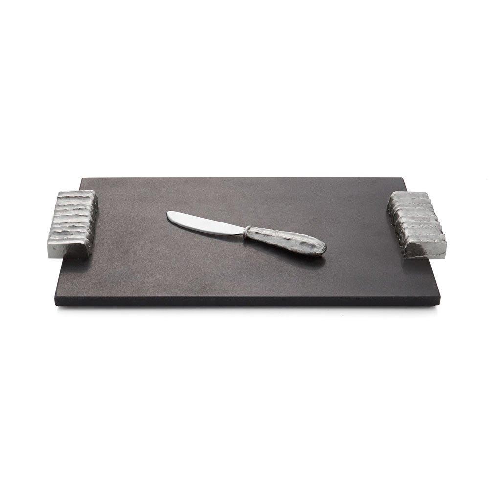 Michael Aram Joshua Tree Cheese Board W/Knife