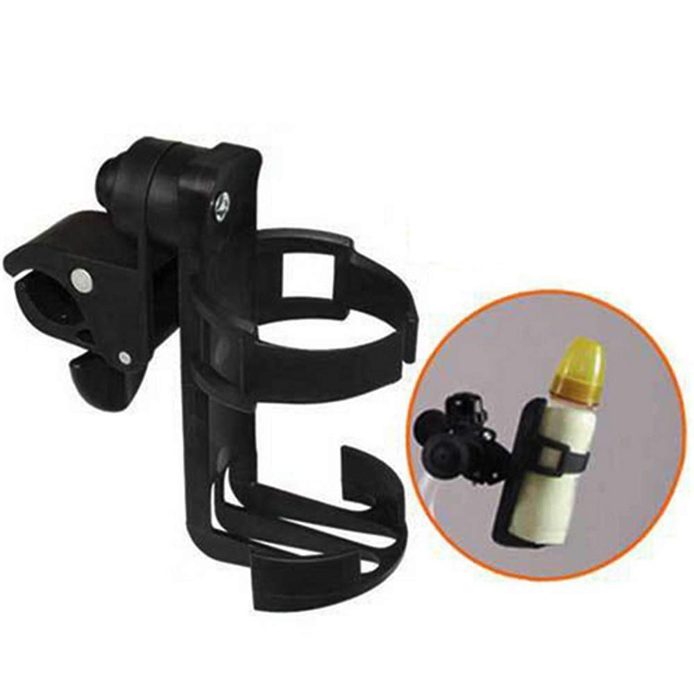 DWhui Stroller Cup Holder 360 Degrees Universal,for Baby Stroller/Pushchair, Bike Cup Holder, Convenience Store Cups and Bottles