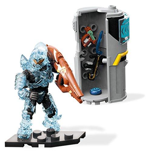 Mega Construx Halo Req Station Blue Building -