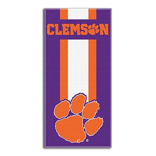 Northwest NCAA Clemson Tigers  Beach Towel,  30 x 60-inch