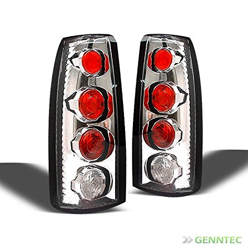 For 88-98 Silverado Sierra Altezza Clear Tail Lights Lamps Brand New L+R Pair Left+Right