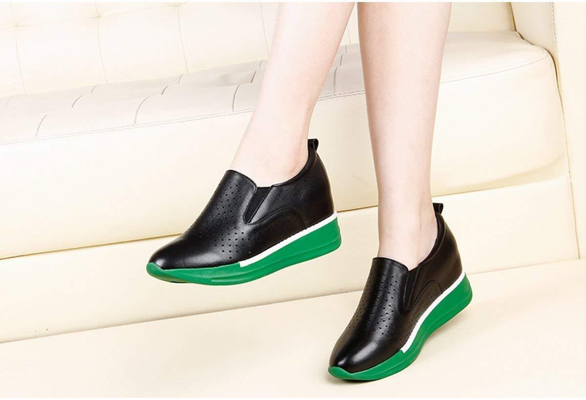 Fuxitoggo Schuhe der Frauen Schuhe Schuhe Flache Schuhe mit Flache Schuhe mit Schuhe Flache Schuhe (Farbe   Schwarz Größe   39) 1e6a13