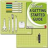 Cricut Tools Bundle Beginner Guide, Cutting Mat, Deep Cut Blade and Housing, Basic Tools, Pens