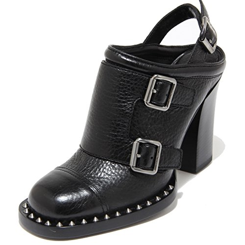 Shoes Scarpe 8134I fibbie Women Scarpe Miu Nero Donna Miu Bxg1nB