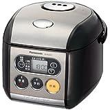 パナソニック 3合 炊飯器 マイコン式 ブラック SR-MZ051-K