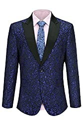 Men's Floral Dress Suit