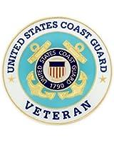 U.S. Coast Guard Veteran USCG Pin