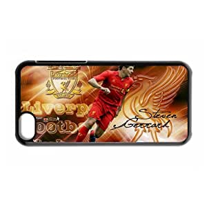 England Football Super Star&Steven.George.Gerrard Theme Case Cover for iPhone 5C- Personalized Hard Cell Phone Back Protective Case Shell-Perfect as gift