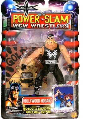 WCW Power Slam Wrestlers Hollywood Hogan distributed by Toy Biz 2000
