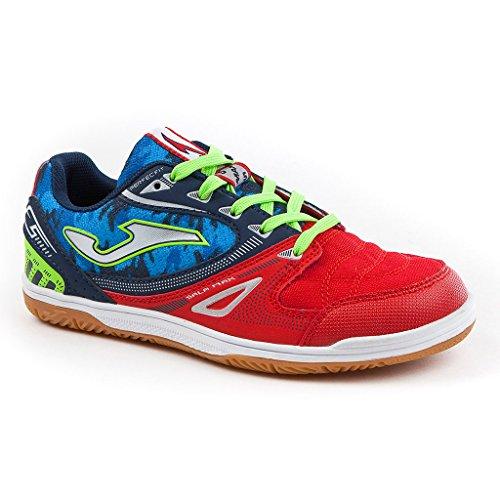Joma Sala Max Jr, Zapatos de Futsal Infantil Rojo