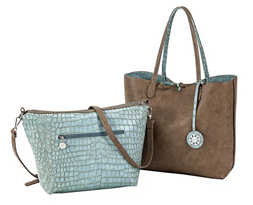 Body with Sydney Reversible Additional Crocodile Love Cross Bag Tote 0w6x0r