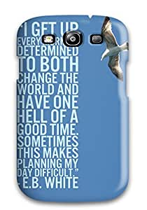 Herbert Mejia's Shop Galaxy S3 Hybrid Tpu Case Cover Silicon Bumper Sibling Quotes 8750320K32082555