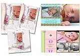 Children Birth Announcements PSD Photoshop Templates