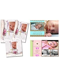 Children Birth Announcements PSD Photoshop Templates BOBEBE Online Baby Store From New York to Miami and Los Angeles