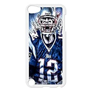 Custom Tom Brady Cover Case for iPod touch5, Custom Tom Brady Touch 5 Phone Case, Custom Tom Brady iPod Cell Phone Case